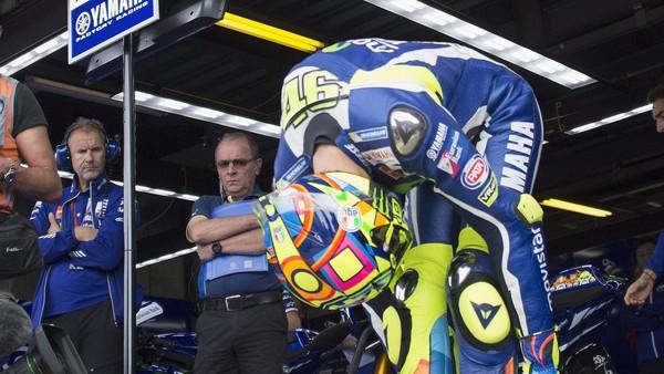 Setelah Rebut <i>Pole</i>, Rossi Khawatir dengan Kecepatan dan Kesehatannya