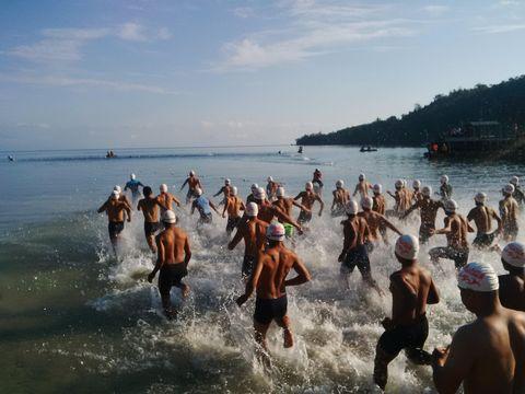 Triathlon Nusa Laut Adventure 2016: Berlomba Sekaligus Promosi Wisata