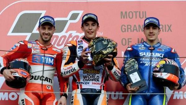 Pujian Dovizioso dan Vinales untuk Marquez