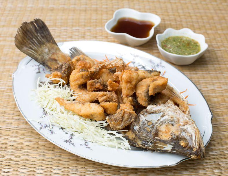 makan ikan kerapu