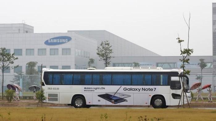 Pabrik Samsung di Korea Selatan. Foto: Reuters