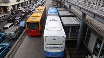Akibat PSBB, Penumpang TransJakarta Turun 90% per Hari