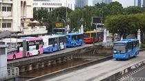 Jakarta Tanggap Darurat Bencana Corona, TransJ Ubah Jadwal-Batasi Penumpang