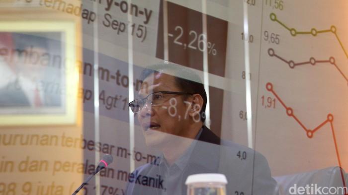 Badan Pusat Statistik (BPS) merilis perkembangan ekspor-impor periode September. Kepala BPS  Suhariyanto menyampaikan langsung perkembangan tersebut.