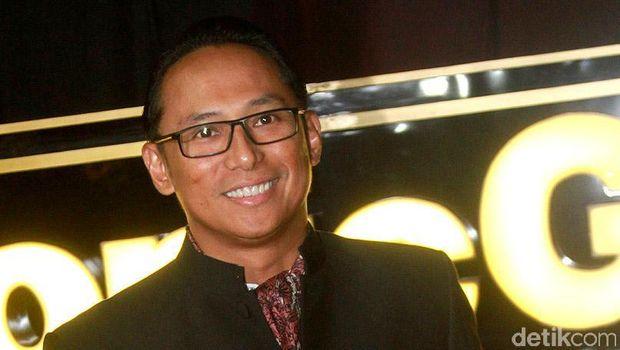 Nico Siahaan saat ditemui di acara Panasonic Gobel Award di Djakarta Theater, Jakpus, Jumat (14/10/2016). Gusmun/detikFoto.