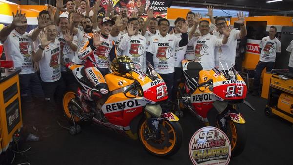 Rekor dan Pencapaian Marquez Saat Jadi Kampiun MotoGP 2016
