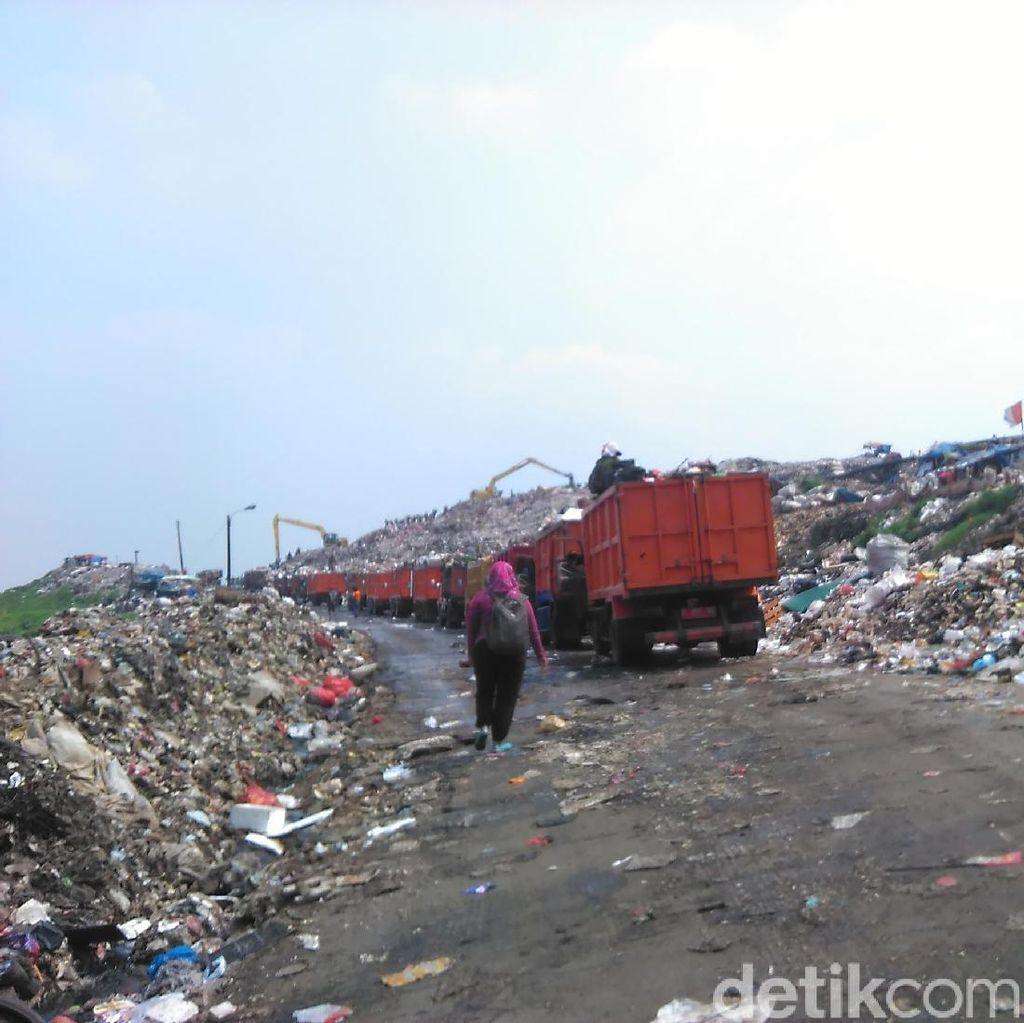 Sampah di Jakarta Menurun Saat Lebaran