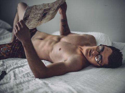 Viral, Model Tampan Berubah Jadi Harry Potter Seksi