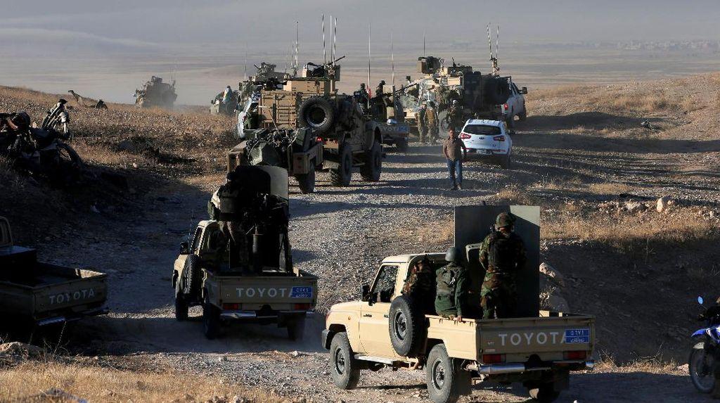 Nyaris 2.400 Warga Irak Kabur dari Mosul dalam 24 Jam