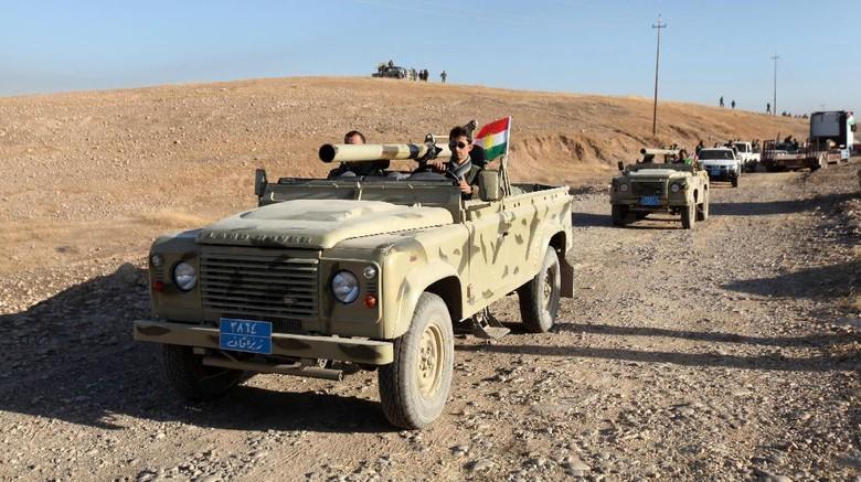 Irak Lakukan Operasi Pembebasan Mosul Dari ISIS