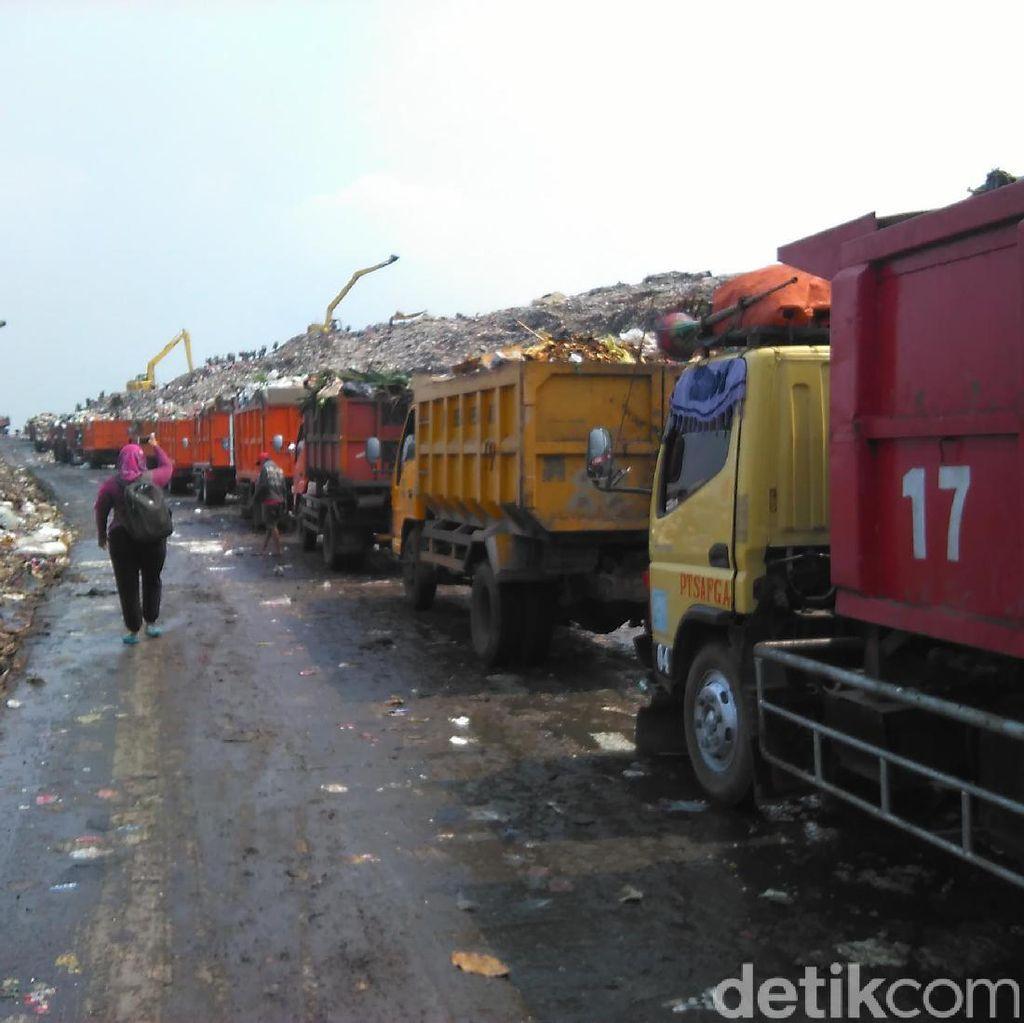 Kisruh Truk Sampah Jakarta Vs Bekasi