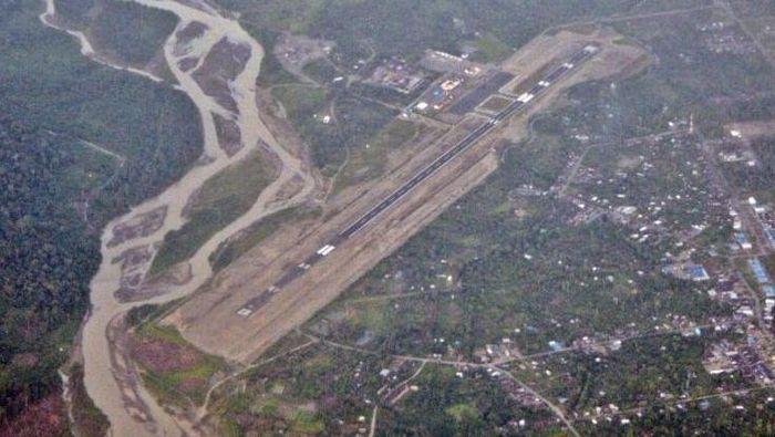 Ilustrasi/Foto: Bandara Nop Goliat Dekai, Yahukimo (Foto: Kemenhub)