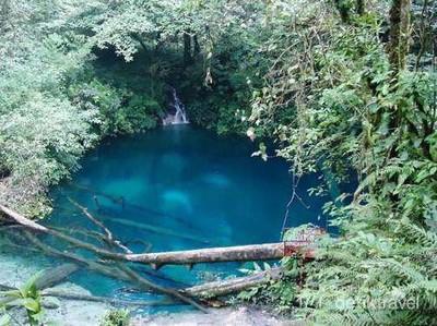 Danau Biru Bagai Negeri Dongeng di Jambi