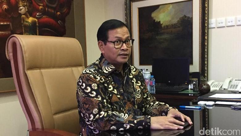 Seskab: Menteri Jokowi-JK Solid, Tahun Politik Diharapkan Stabil