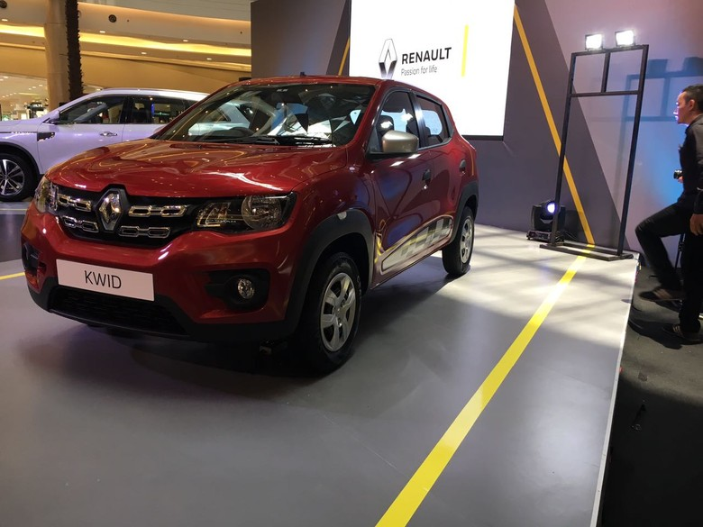 Renault Kwid saat diluncurkan di Indonesia. Foto: Dina Rayanti