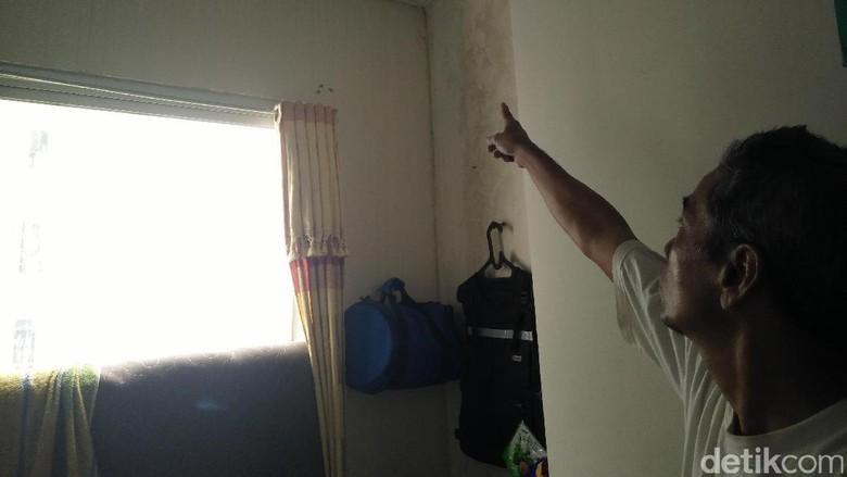 Harap-harap Cemas Warga Rusun Jatinegara Barat Karena Dinding Retak Kian Parah