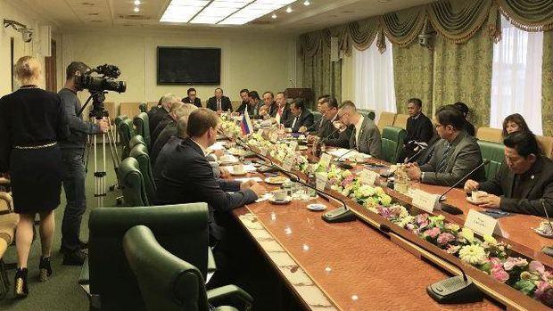Pertemuan Delegasi Komisi IV DPR dengan Dewan Federasi Rusia
