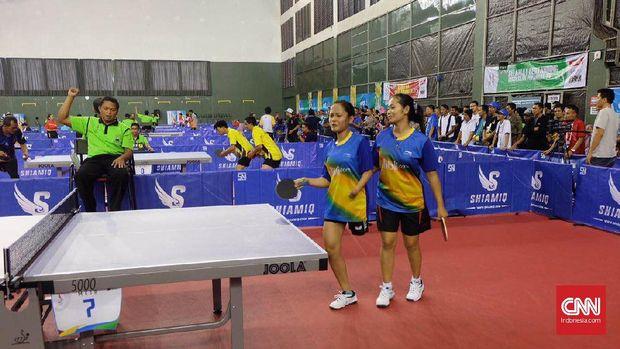 Atlet difabel tenis meja dianggap minim jam terbang di level internasional.