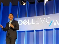 Michael Dell CEO Dell Technologies, di ajang Dell EMC World 2016.