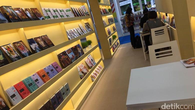 Ilustrasi di Frankfurt Book Fair Foto: Andi Saputra