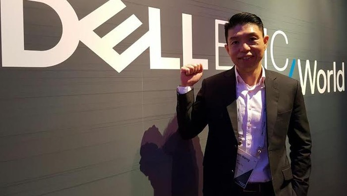 Tian Beng, Senior Vice President & Managing Director Dell EMC South Asia & Korea (Foto: Achmad Rouzni Noor II/detikINET)