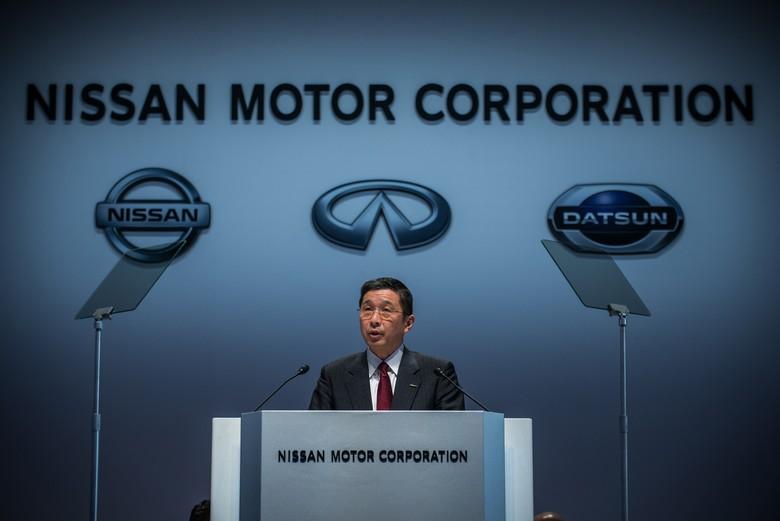 Bos Nissan Hiroto Saikawa. Foto: Nissan