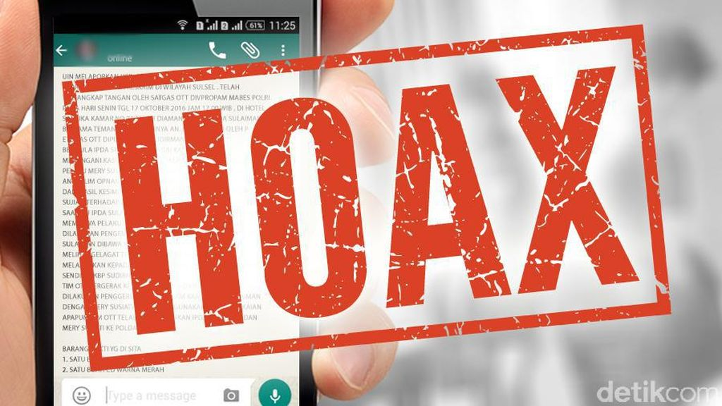 Jokowi Bicara Semburan Dusta, Kominfo Catat 175 Hoax di Januari