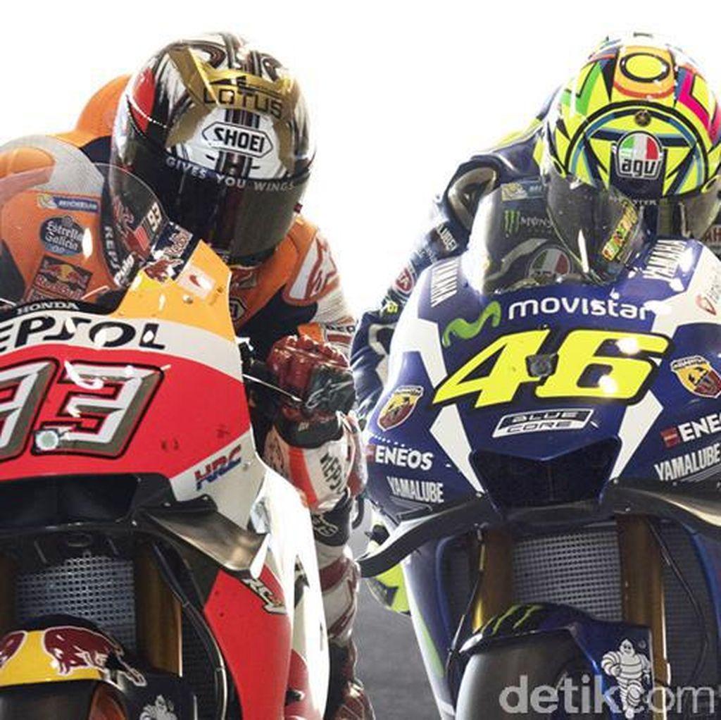 Clash of The Titans: Rivalitas Panas Valentino Rossi-Marc Marquez