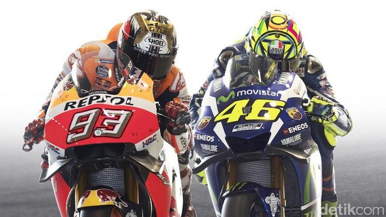 Marquez vs Rossi: Siapa Lebih Baik di Usia 23?