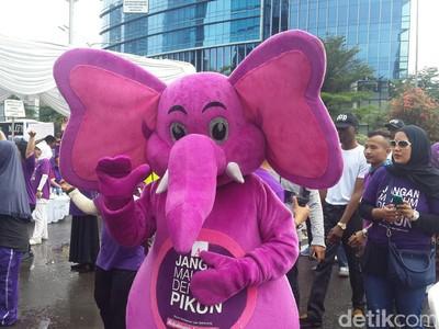Begini Penampakan Pojok Lansia di Car Free Day Jakarta