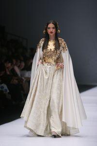 Aksi Aming Hingga Tatjana Saphira Jadi Model JFW Hari ke-2