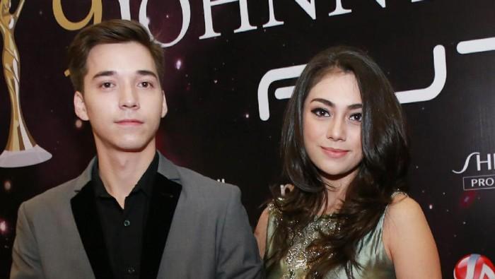 Stefan William dan Celine Evangelista saat ditemui di kawasan Senayan