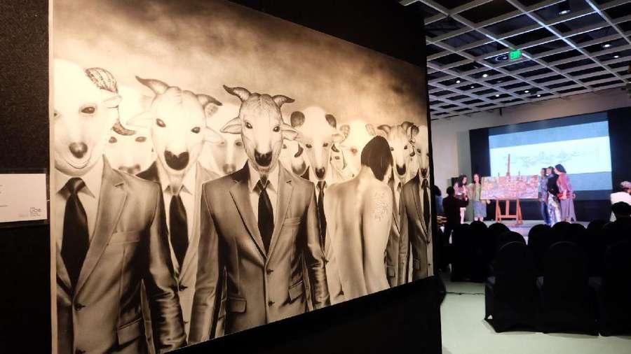 Lukisan 3D Gatot Indrajati Juarai UOB Painting of The Year