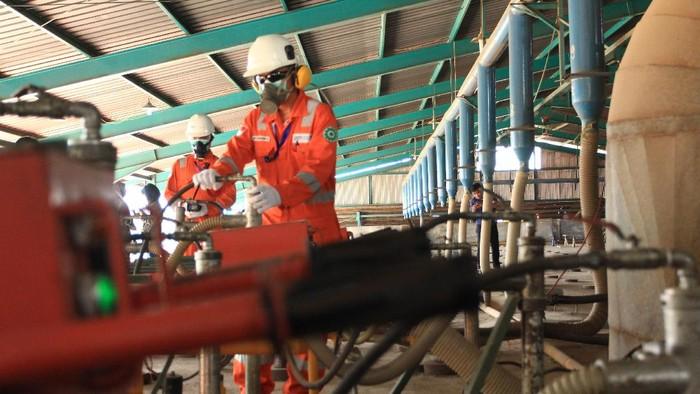 industri genteng di Majalengka pakai gas yang dipasok PGN