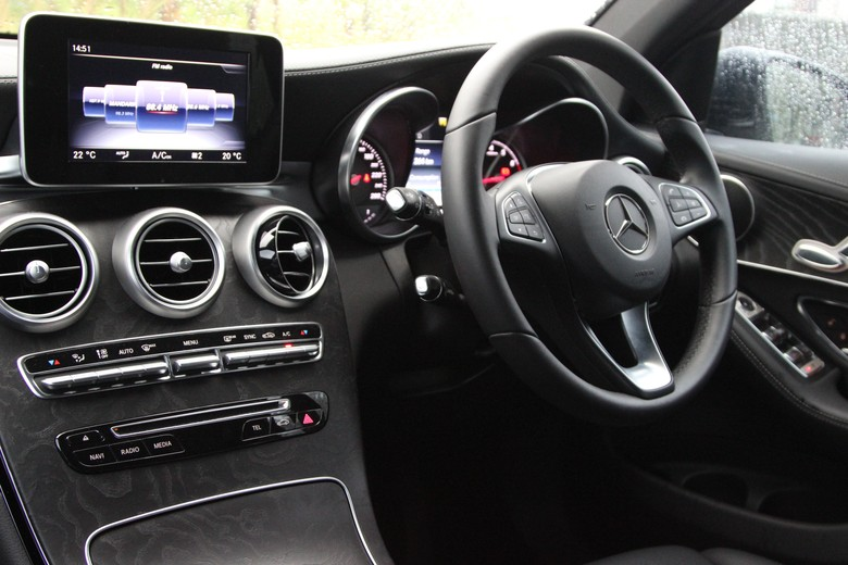 Mercedes-Benz GLC model 2016