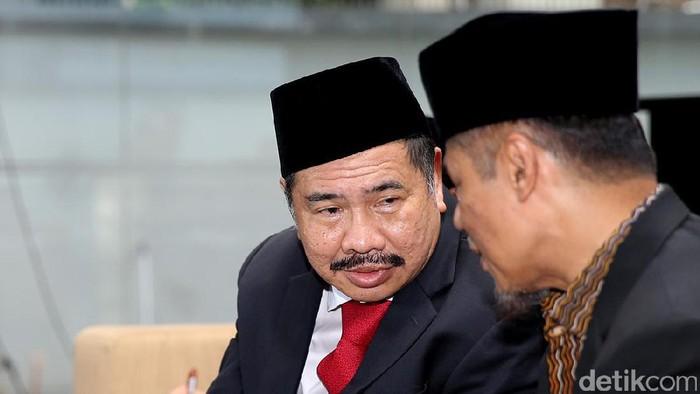Kepala PPATK Kiagus Ahmad Badaruddin (Foto: Ari Saputra/detikcom)