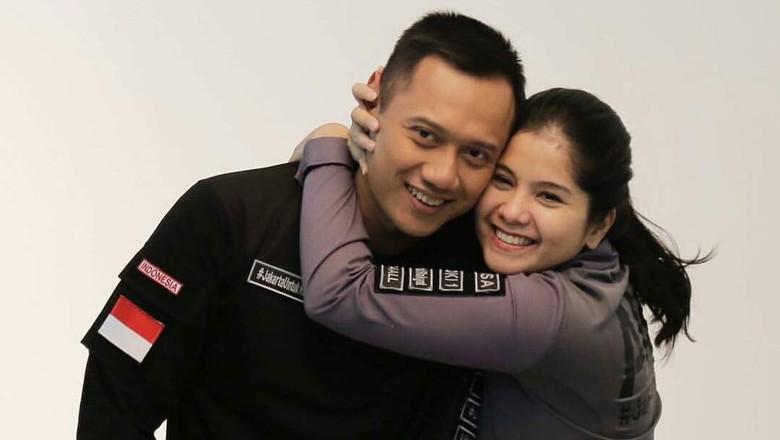 Foto: Potret kemesraan Agus Yudhoyono-Annisa Pohan (Instagram/annisayudhoyono)