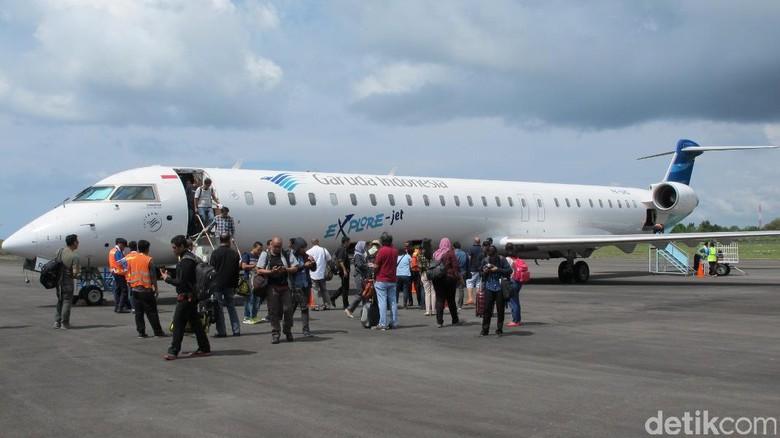 Ilustrasi pesawat Garuda Indonesia (Afif/detikTravel)