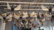 Heri Dono Boyong Karya Seni Smiling Angels from the Sky ke Hong Kong