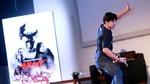 Gaya Serba Hitam Audy dan Iko Uwais di Premiere The Raid 2