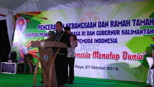 Gloria Paskibraka: Saya Ingin Jadi Presiden Republik Indonesia