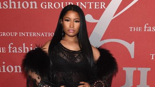 Penampilan Seksi Nicki Minaj