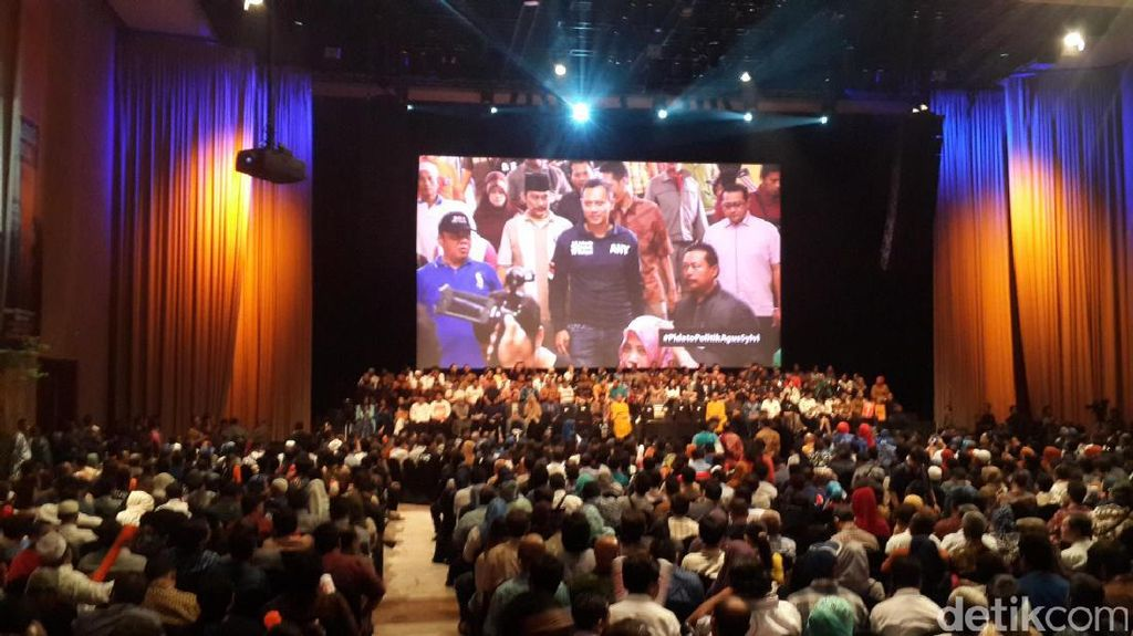 SBY Hingga Lulung Hadiri Pidato Politik Agus Yudhoyono