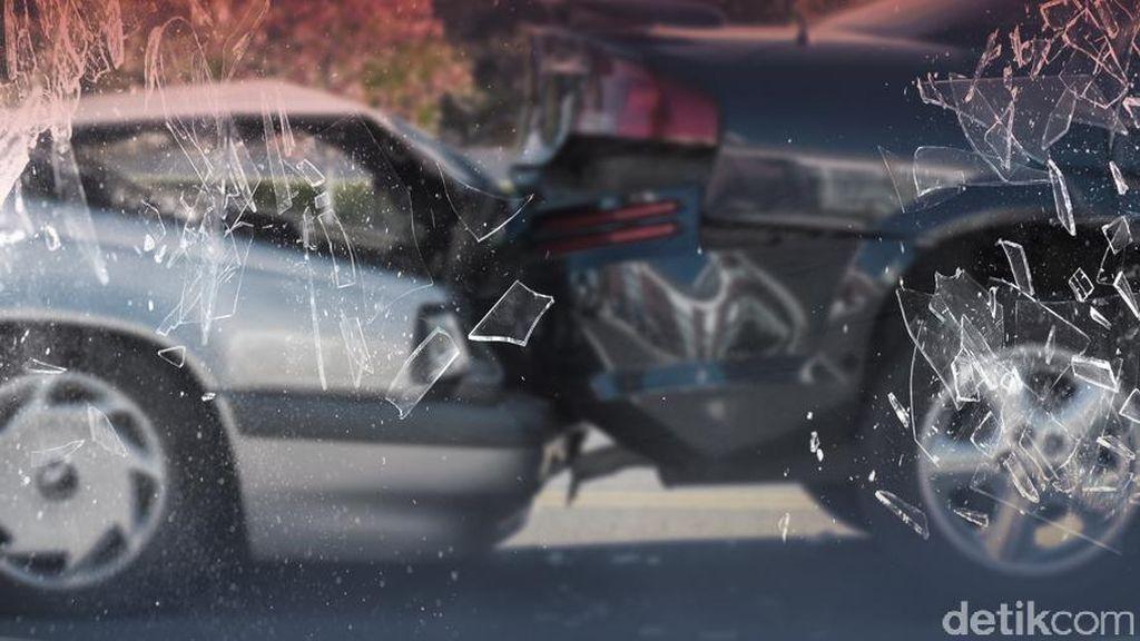 Kecelakaan Beruntun Terjadi di Tol Tomang Arah Grogol Sore Ini