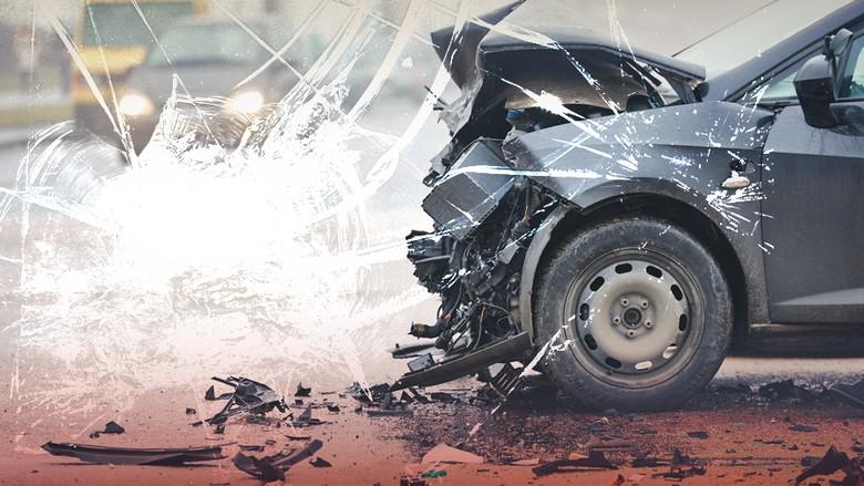Kecelakaan 2 Mobil di Tol Merak Arah Jakarta, Lalin Macet