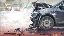 3 Mobil Terlibat Kecelakaan Beruntun di Tol Becakayu
