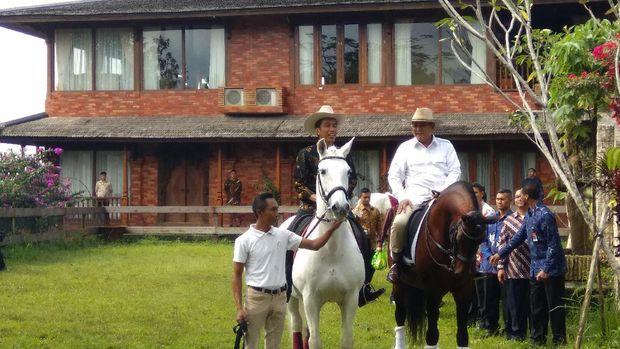 Mengenal Salero dan Principe, Dua Kuda yang Ditunggangi Prabowo serta Jokowi