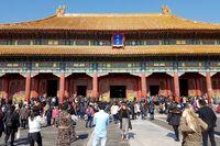 Forbidden City, salah satu destinasi sejarah yang paling terkenal di China (Elvan/detikTravel)