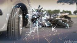 Kecelakaan di Tol Arah Tomang, Lalin Padat