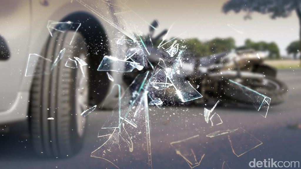 Kecelakaan di Casablanca, Gerobak Soto-Ketoprak Juga Kena Seruduk Mobil